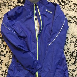 Columbia Omni Tech Running Jacket-Small